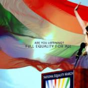 O dia em que GaGa gritou com Obama pela comunidade LGBT
