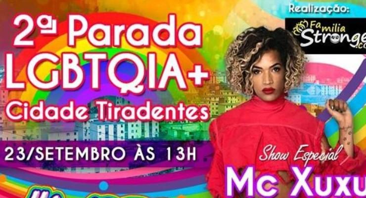 Cidade Tiradentes recebe 2º Parada LGBTQIA+