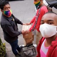 Resistência Arco iris da periferia e nas Ruas