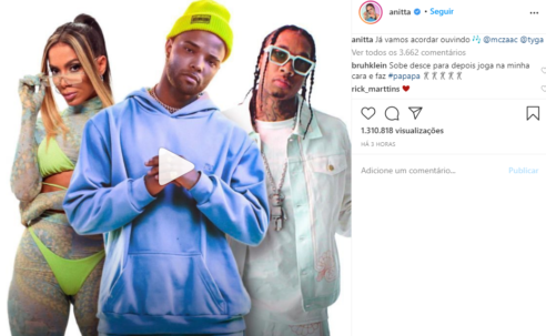 Desce pro play com Anitta, MC Zaac e Tyga